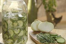 Preserves & Pickles / Preserves, pickling, dips and salad dressings