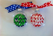 Christmas ornaments / by Dianne Westmoreland
