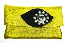 leather clutch / neroli clutch