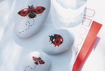 galets coccinelle