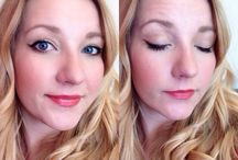 My makeup looks / using mainly Mary Kay products with occasionally other brands you can find in the drug store.