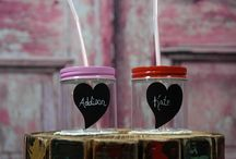 Chicky Mason Jars / Our mason jars make great party favors