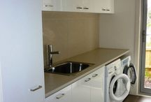 Laundry Cupboards & Storage