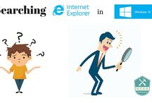 Find internet explorer in Windows 10 / Internet Explorer was replaced by Microsoft Edge in Windows 10. Here are the steps that you can follow in order to have access again at Internet Explorer.