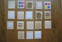 ##OT-Sensory Board Ideas## / All these are great ,but our favorites are the ones made with sand-paper,...