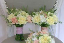 Pastel meadow flowers  / Chic pastel blooms for vintage rustic wedding