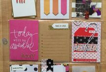 Papercrafts ~ Pocket Letters / Ideas for pocket letters