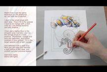 Art: Coloured Pencils
