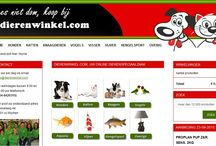 online dierenwinkel / Dierenwinkel.com, your online pet shop for all your dogs, cats, rodents and bird supplies. Low prices and fast delivery to your online pet store.