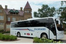Our Fleet of Charter Buses