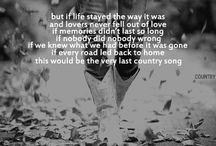 Lyrics I love / by Erin Greenough