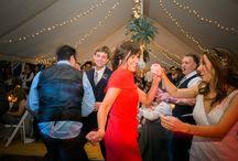 Bianca & Sam / Marquee wedding reception at Scampston Hall, Malton. August 2015