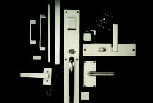 Modern Flair / Clean lines and perfect finishes make contemporary hardware forever on trend