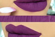 Purple Liquid Lipsticks