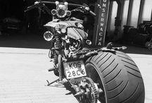 Motocykle custom / Budowa, przeróbki motocykli