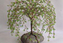 Glass Bonsai Trees