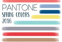 Pantone Inspiration / PANTONE Spring Colors Inspiration