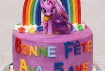 Gâteau pouliche