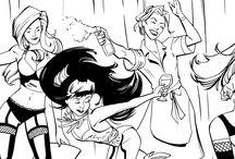 The Lalas Burlesque Comic Book