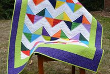 Modern Quilts / The modern quilts I have made