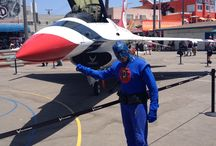Planes to Fly in / DangerMan and his new toy the F-16