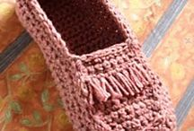 Crotchet-slippers