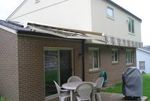 Retractable Awnings for the Home / Retractable Awnings for any home / by Thomas V. Giel Garage Doors