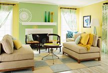 Home- Living/Family room / by Katie K