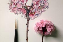 Рисунок. Цветы.