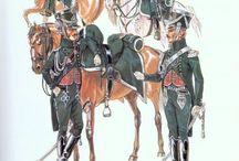Impérial guard gendarmes d'ordonnance