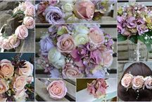 Mood Boards / Wedding Themes ideas using images of our work.