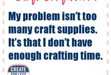 Crafter Confessions