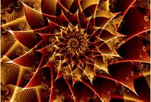 Red, yellow fractal