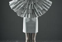 Paper fashion / Papier nie wychodzi z mody.