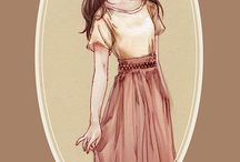 šaty a vlasy, čo sa mi páčia