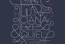 Art  typographie / by la reine de ❤