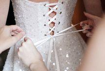 Wedding Bridal Gown Back Details