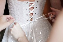 Wedding Bridal Gown Back Details / by Kaitlin Kozlowski