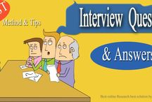 Job interview question and answers / interview questions and answers Tell us about yourself ? Why should I hire you ? do you want to work in this industry? and more question just follow the board........