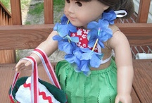 American Girls / Things to make for AG dolls / by Sue Munn
