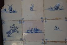 Antique tiles