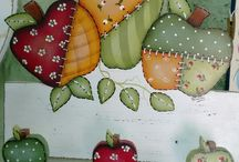 dekoratif elma ahsap