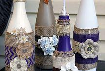 Botellas decoradas