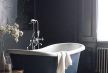 Blue bath