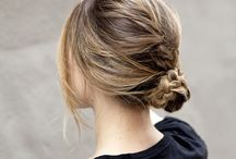 hairs, buns