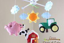 Krista's Nursery / Farm Nursery Ideas