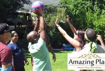 SA Mini Olympics at The Amazing Place / SA Mini Olympics is an ideal team building event for groups that enjoy a bit of friendly competition.