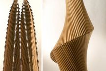 Paper & cardboard design ideas / Paper and carboard inspiration. So many possibilities! #paper #cardboard #design #ideas