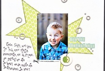 Crafty - Inspirational Scrapbook Lay-outs