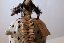 bambole carta pesta